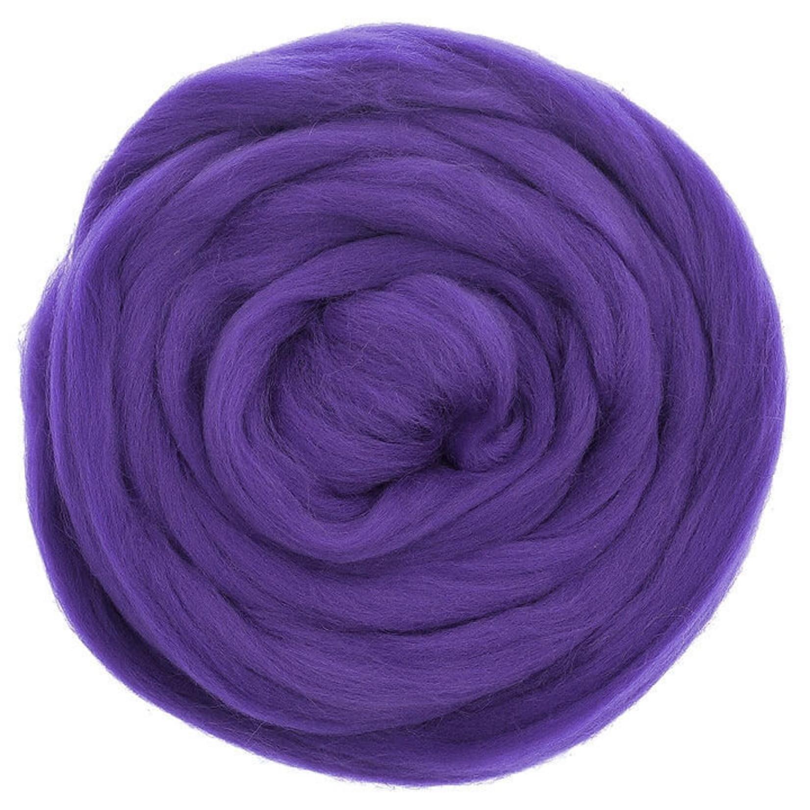 Meervilt Lontwol Merino EU - 667 Violet - 50 gr.