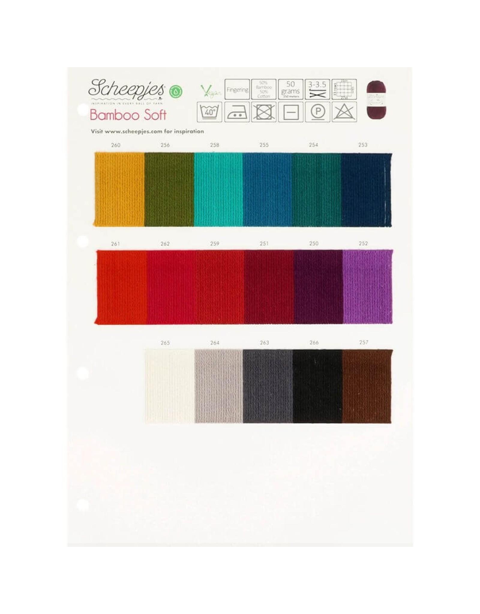 Scheepjes Scheepjes Bamboo Soft Stalenkaart