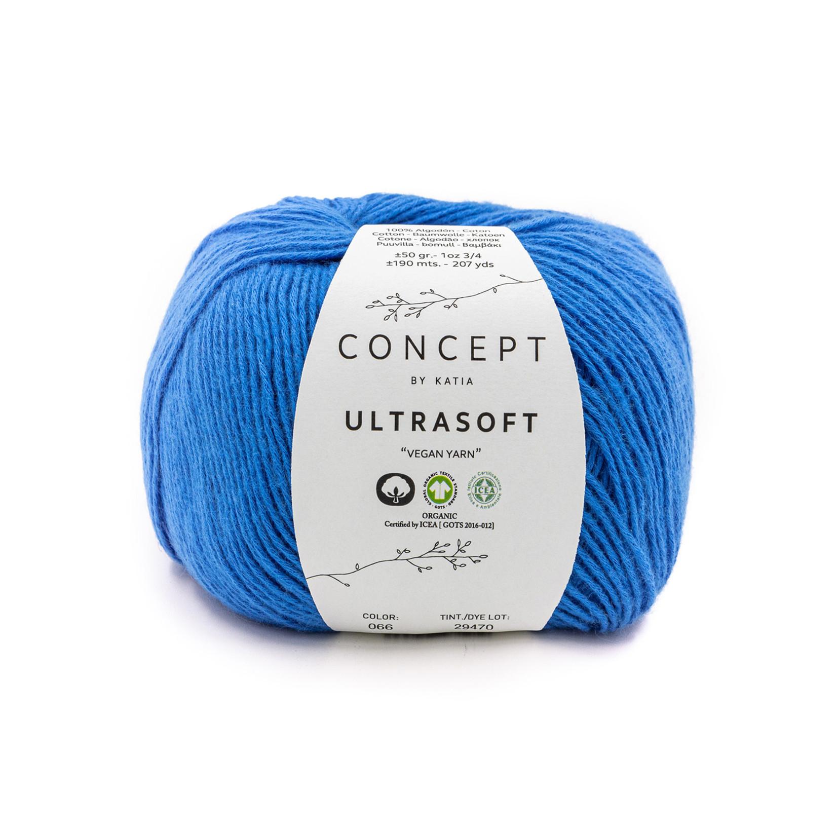 Katia Katia Ultrasoft - 66 - Nachtblauw - 50 gr./190 m. - biol. GOTS katoen
