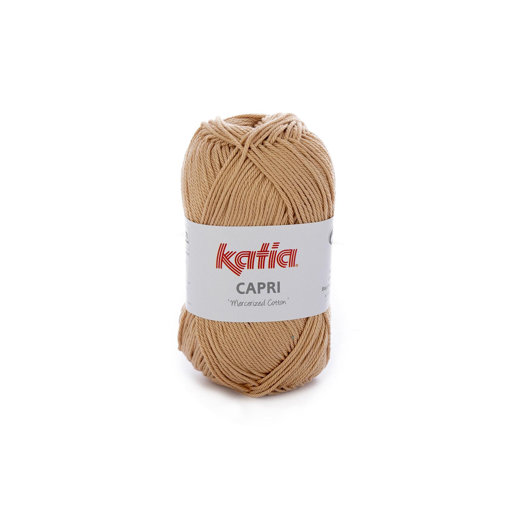 Katia Katia Capri - kleur 167 Zalmoranje - 50 gr. = 125 m. - 100% katoen