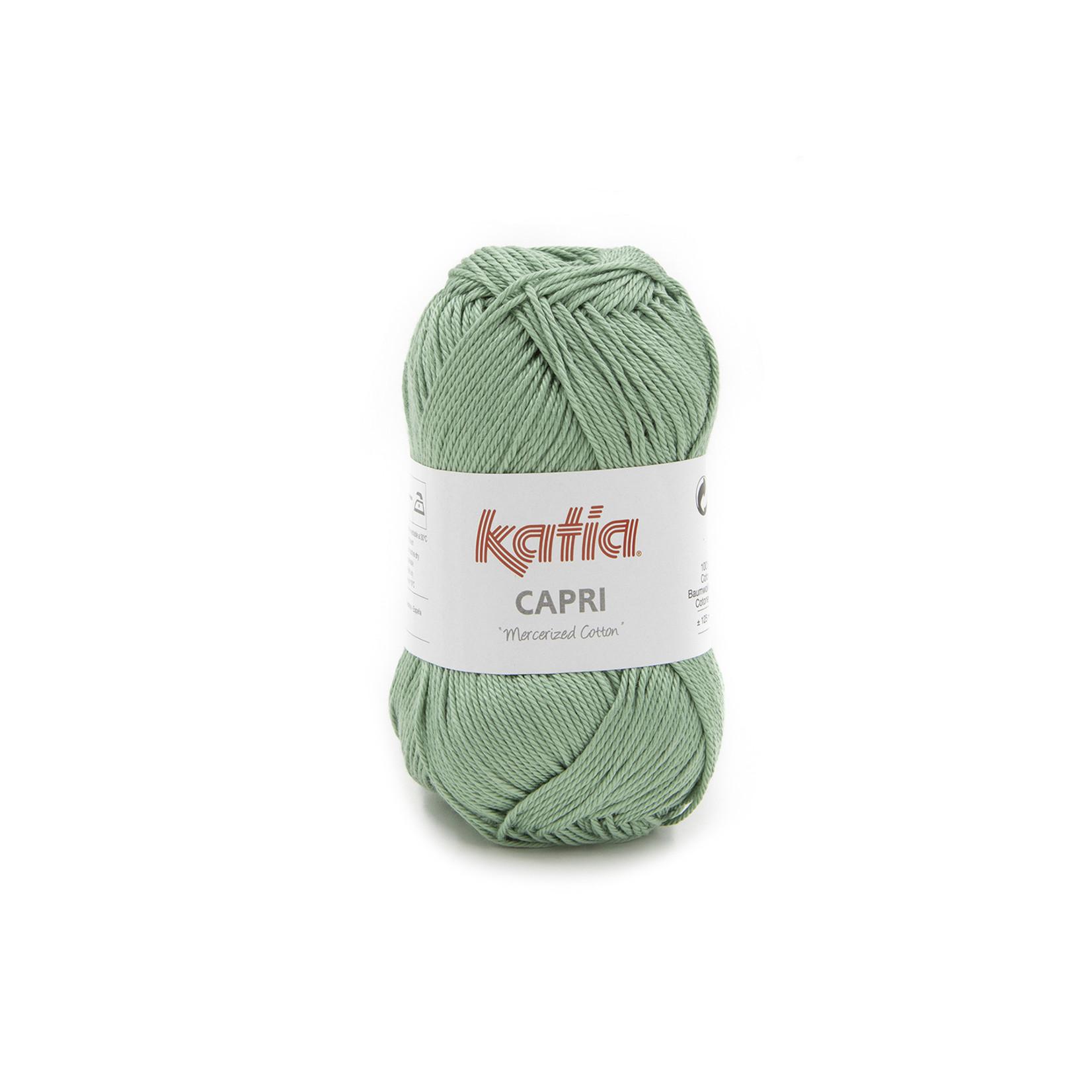 Katia Katia Capri - kleur 177 Mintgroen- 50 gr. = 125 m. - 100% katoen