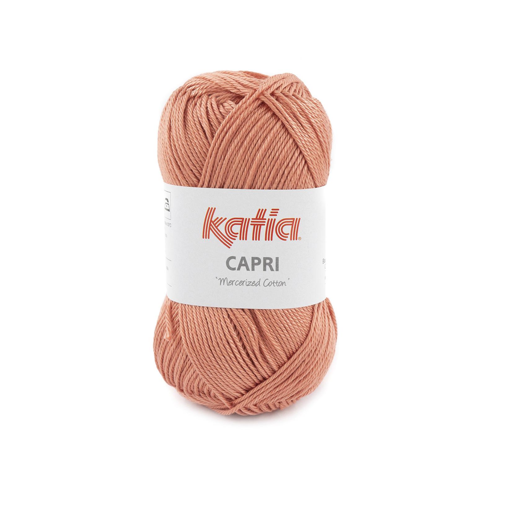 Katia Katia Capri - kleur 182 Framboosrood- 50 gr. = 125 m. - 100% katoen