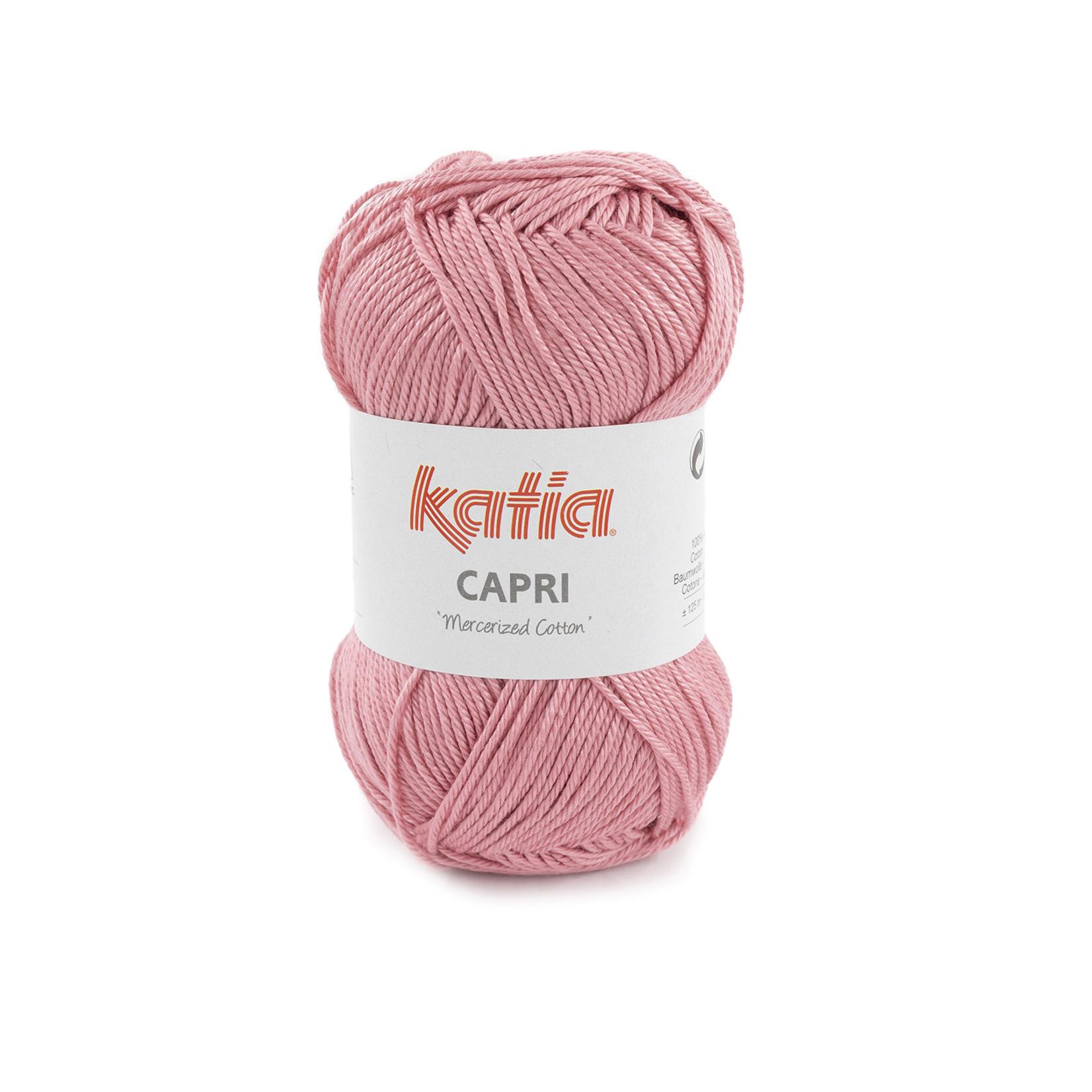 Katia Katia Capri - kleur 183 Zalmrood- 50 gr. = 125 m. - 100% katoen