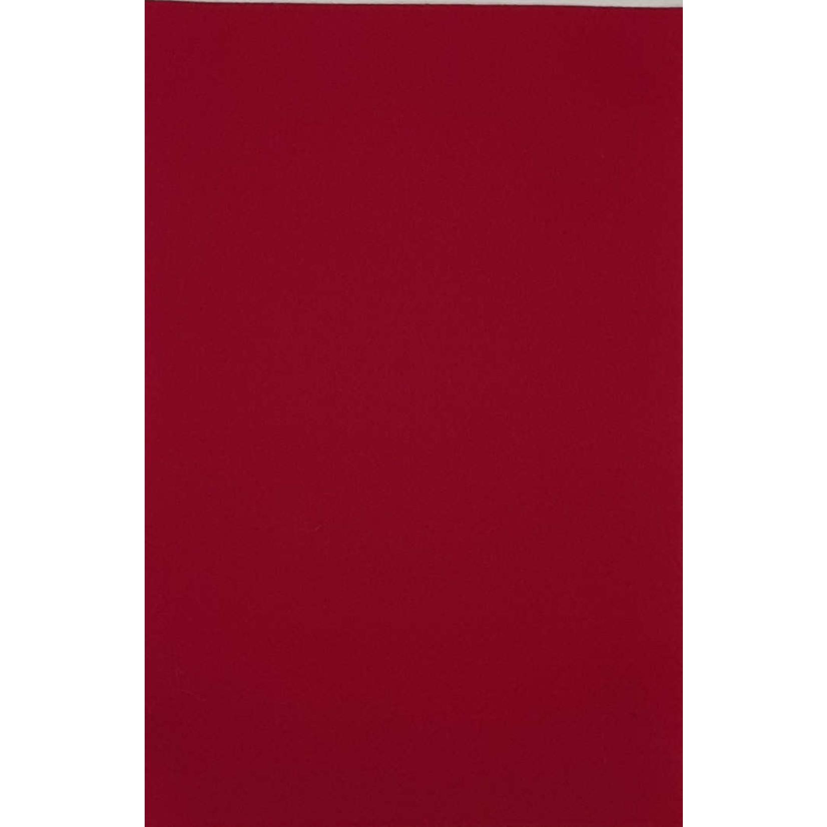 HollandFelt Wolvilt - lapje 20 x 30 cm. - kleur 08  Donkerfuchsia - zuiver scheerwol- 1 mm. dik