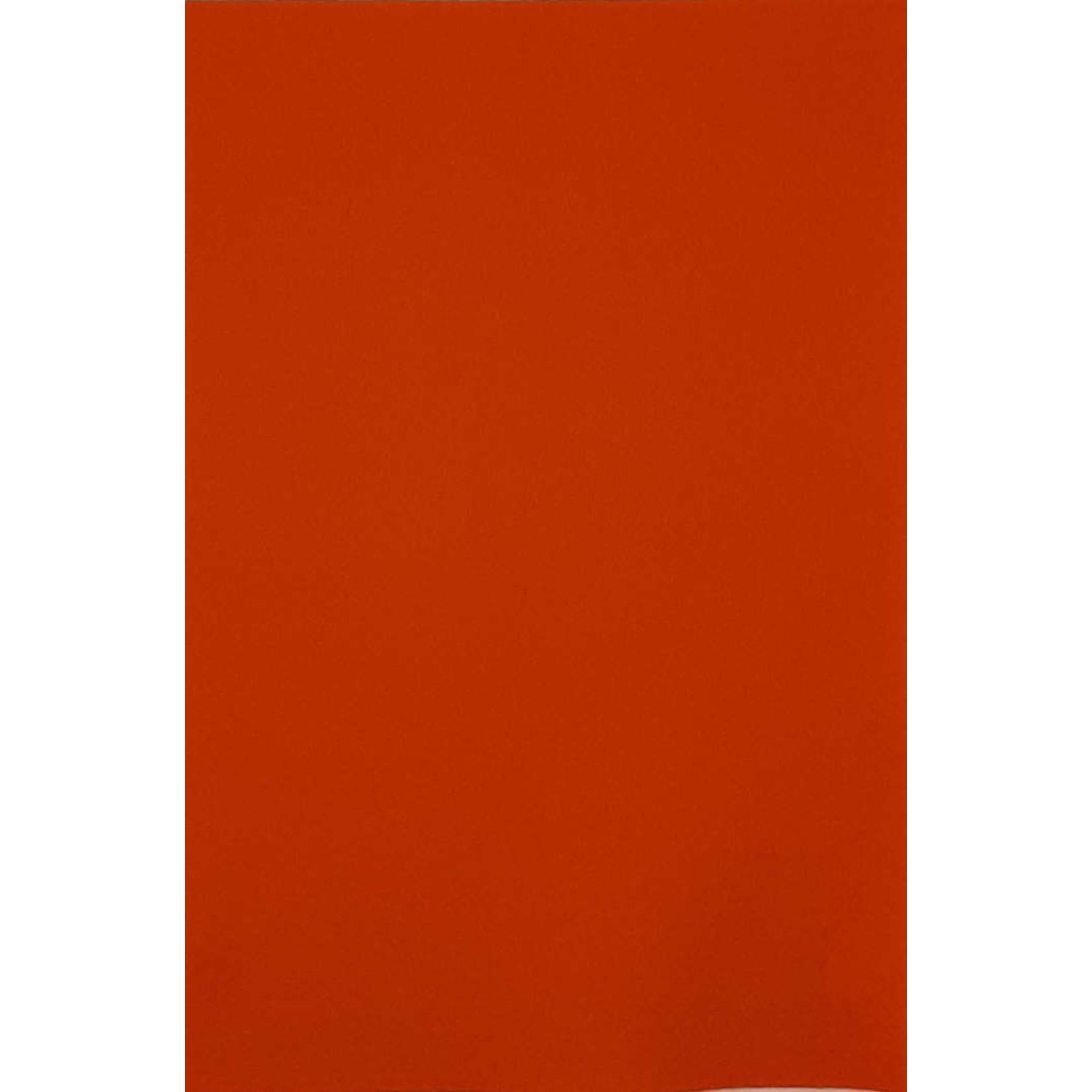 HollandFelt Wolvilt - lapje 20 x 30 cm. - kleur 05  Oranje - zuiver scheerwol- 1 mm. dik