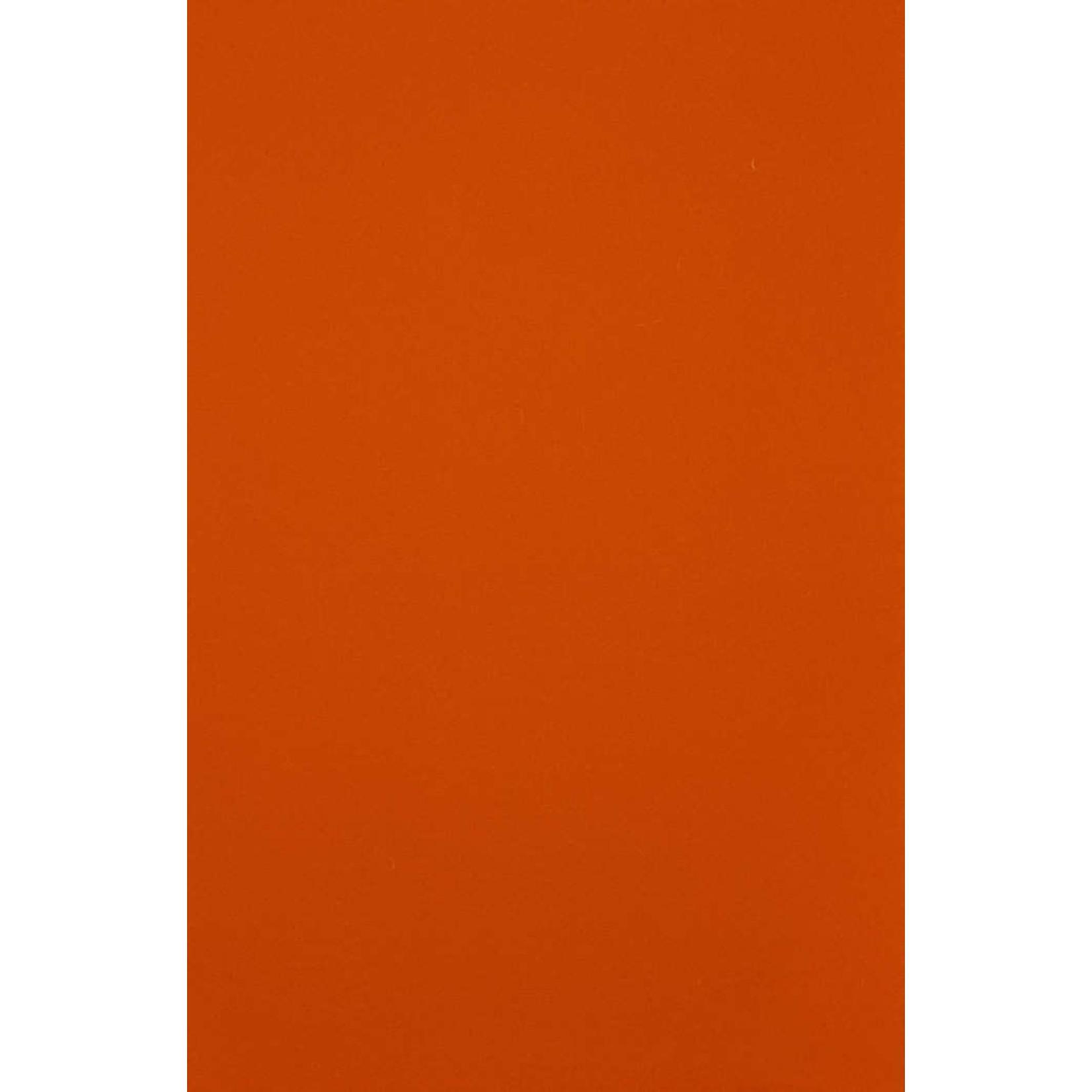 HollandFelt Wolvilt - lapje 20 x 30 cm. - kleur 04  Lichtoranje - zuiver scheerwol- 1 mm. dik