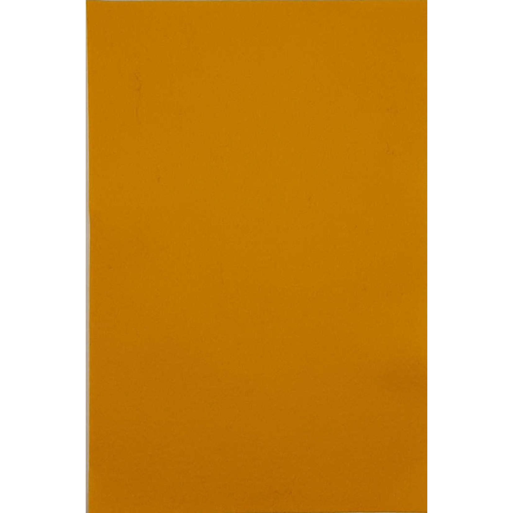 HollandFelt Wolvilt - lapje 20 x 30 cm. - kleur 03  Maisgeel - zuiver scheerwol- 1 mm. dik
