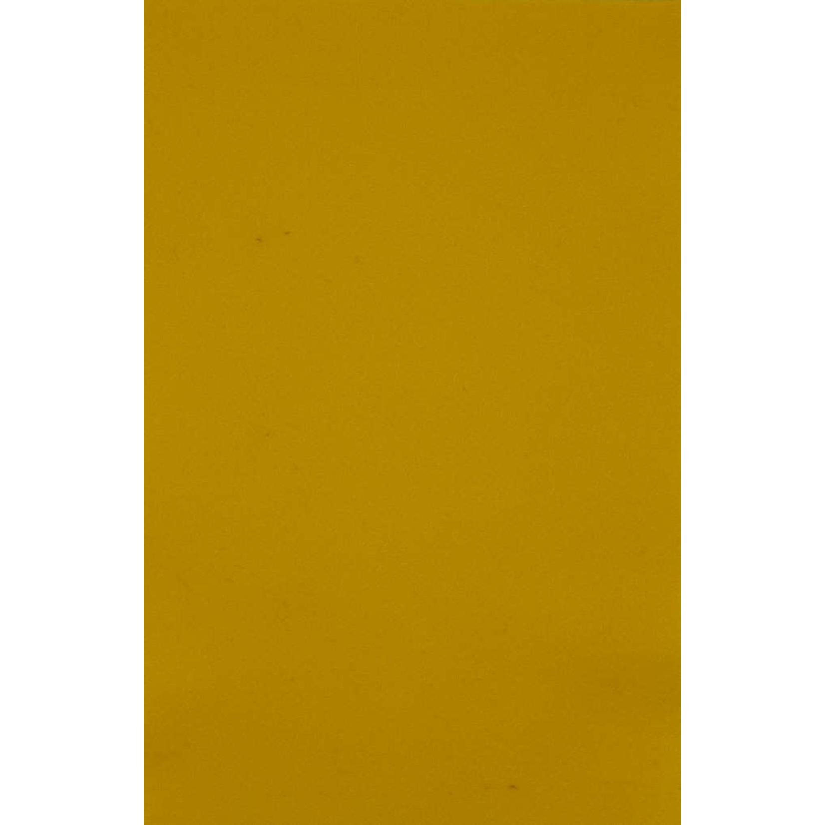HollandFelt Wolvilt - lapje 20 x 30 cm. - kleur 02  Citroengeel - zuiver scheerwol- 1 mm. dik