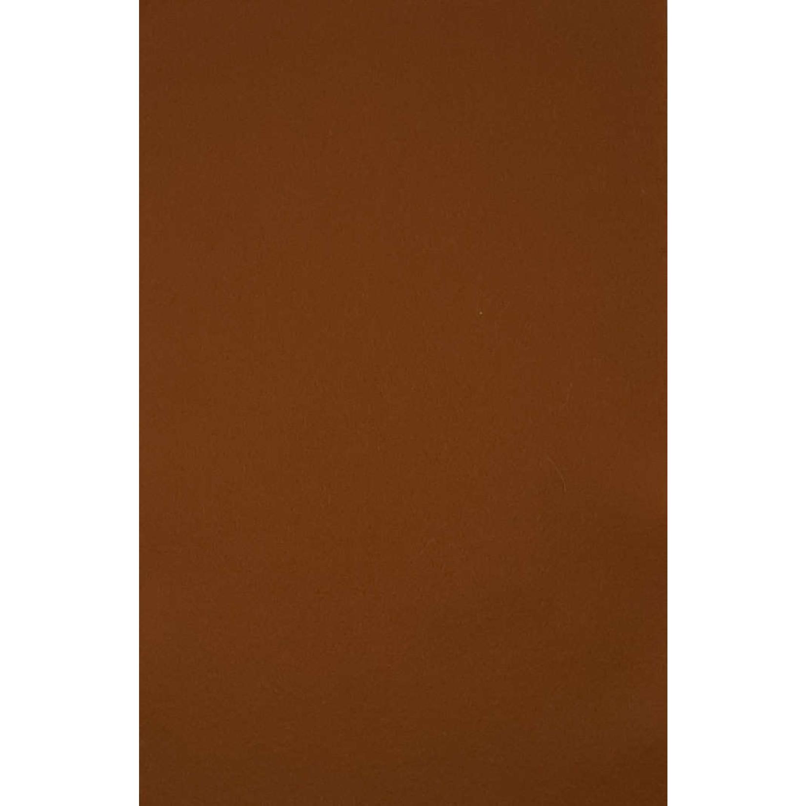 HollandFelt Wolvilt - lapje 20 x 30 cm. - kleur 15 - Suedebruin - zuiver scheerwol- 1 mm. dik