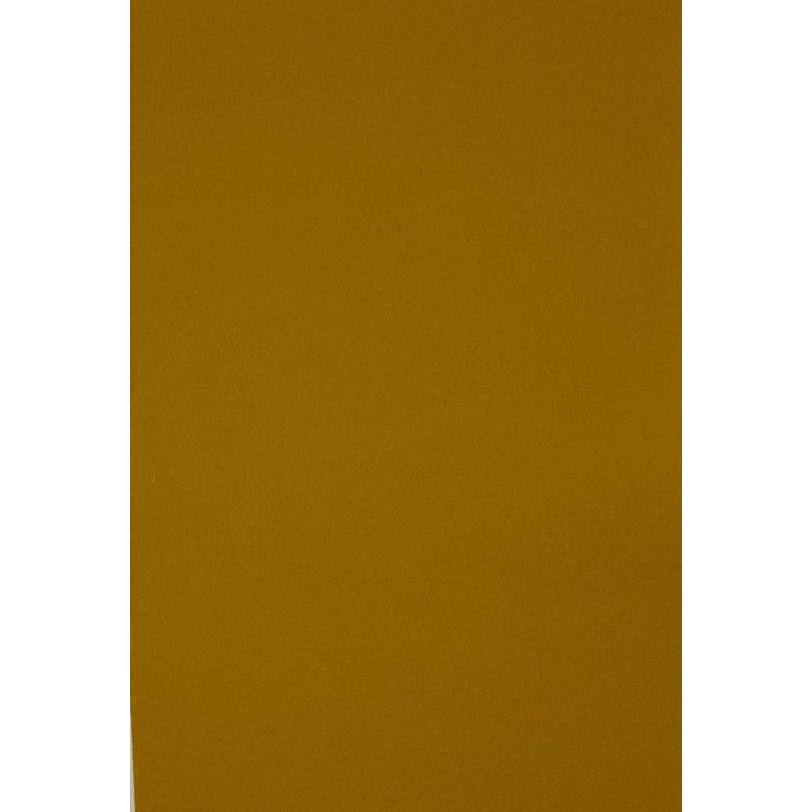 HollandFelt Wolvilt - lapje 20 x 30 cm. - kleur 12 - Mosterd - zuiver scheerwol- 1 mm. dik
