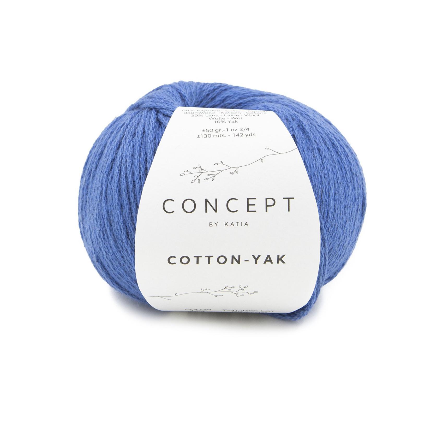 Katia Katia Cotton Yak - 127 - Nachtblauw - katoen wol yak