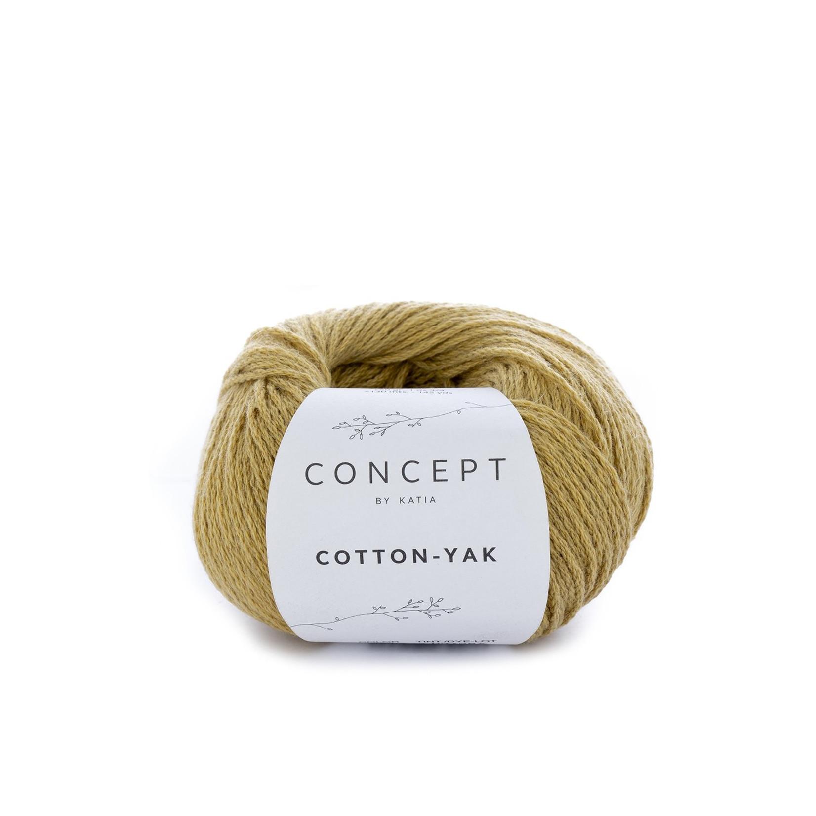 Katia Katia Cotton Yak - 118 - Mosterdgeel - katoen wol yak