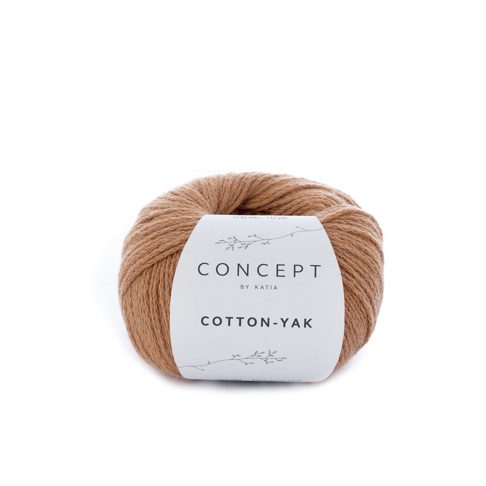 Katia Katia Cotton Yak - 117 - Oranje - katoen wol yak