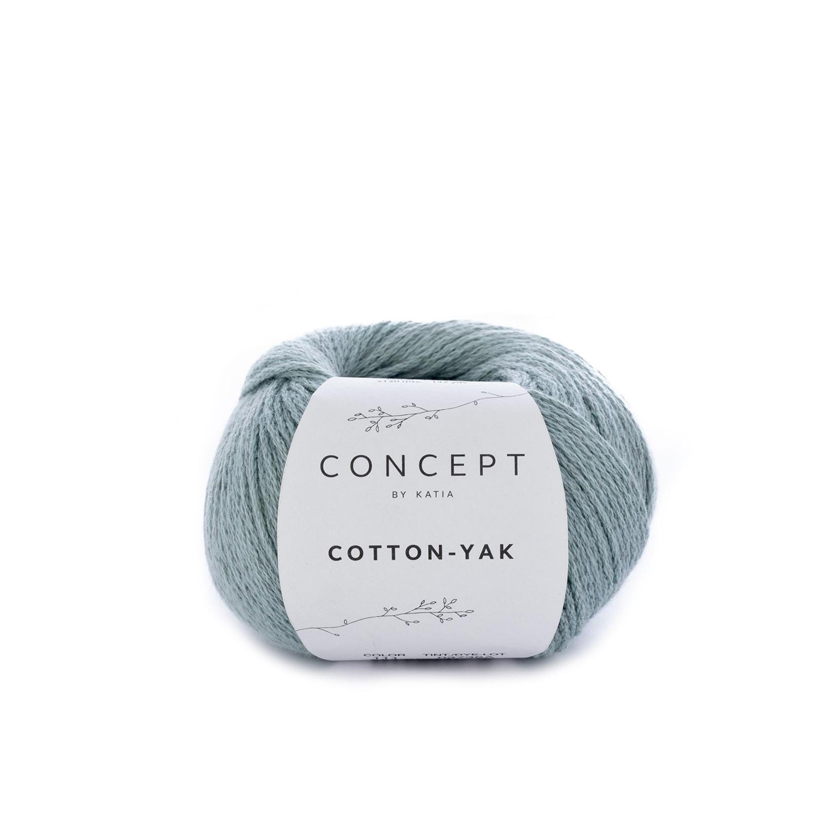 Katia Katia Cotton Yak - 111 - Witgroen - katoen wol yak