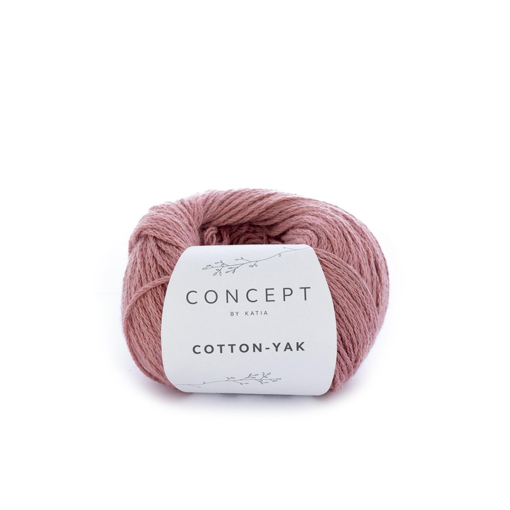 Katia Katia Cotton Yak - 109 - Koraal - katoen wol yak