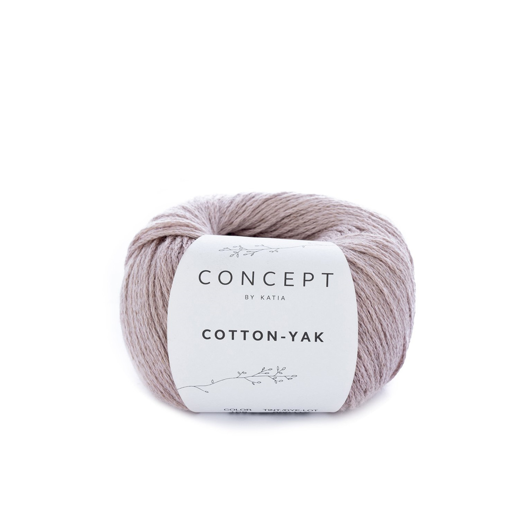 Katia Katia Cotton Yak - 108 - Parelmoer-Lichtrood - katoen wol yak