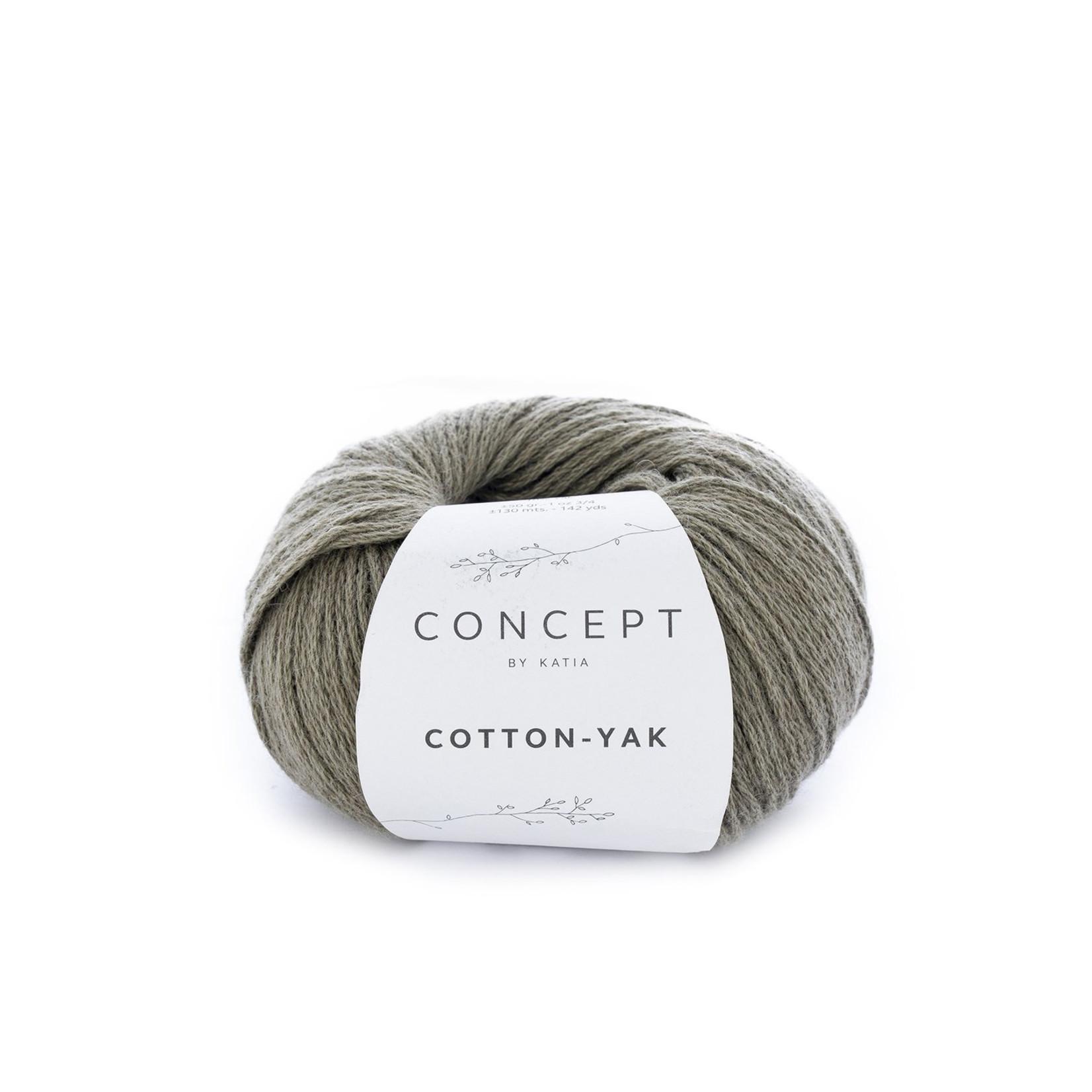 Katia Katia Cotton Yak - 107 - Bleekgroen - katoen wol yak