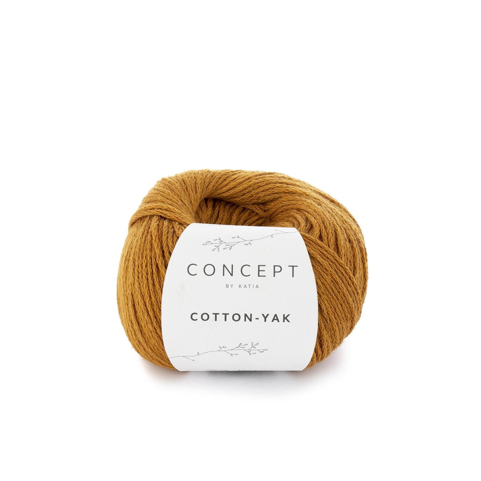 Katia Katia Cotton Yak - 106 - Oker - katoen wol yak