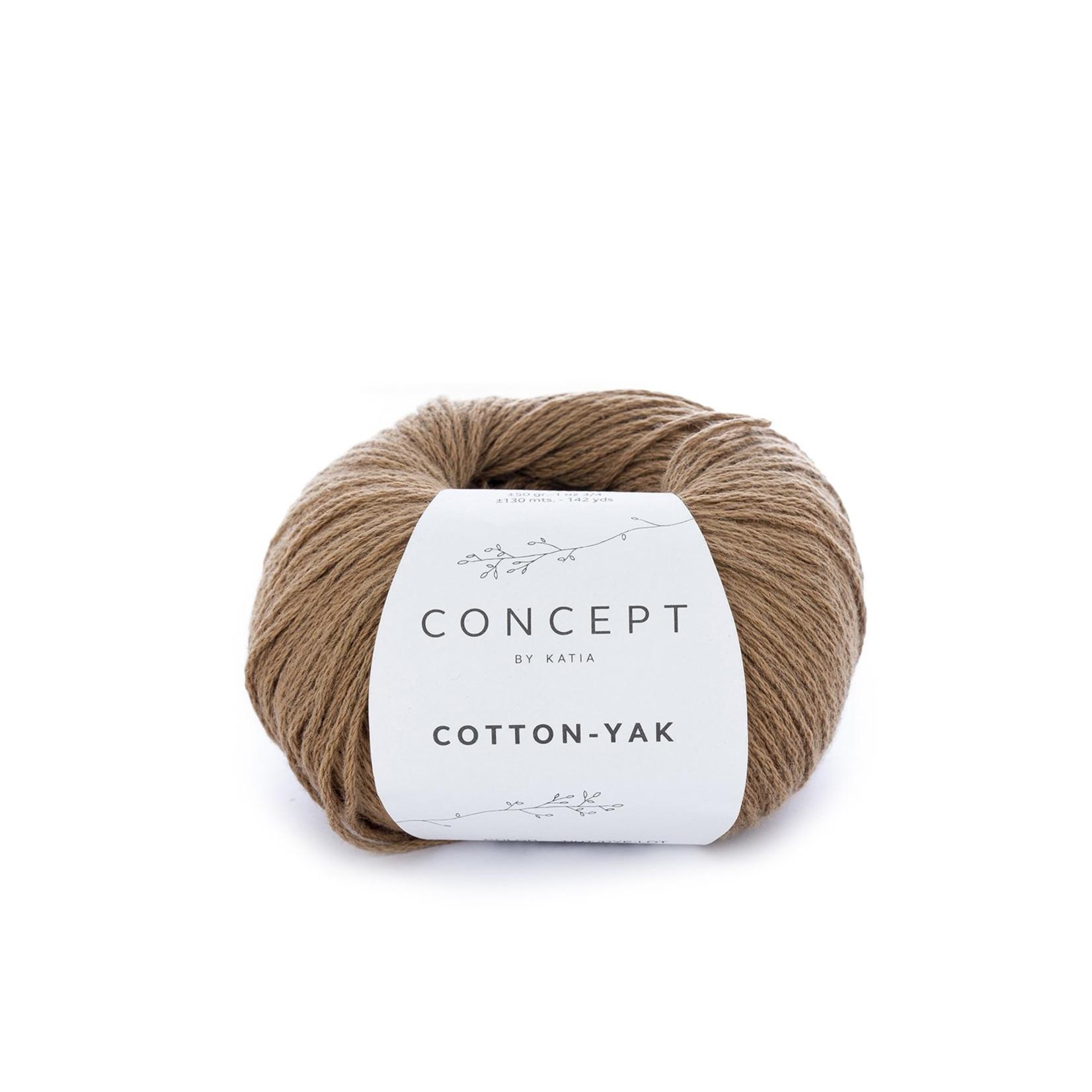 Katia Katia Cotton Yak - 102 - LichtBruin - katoen wol yak