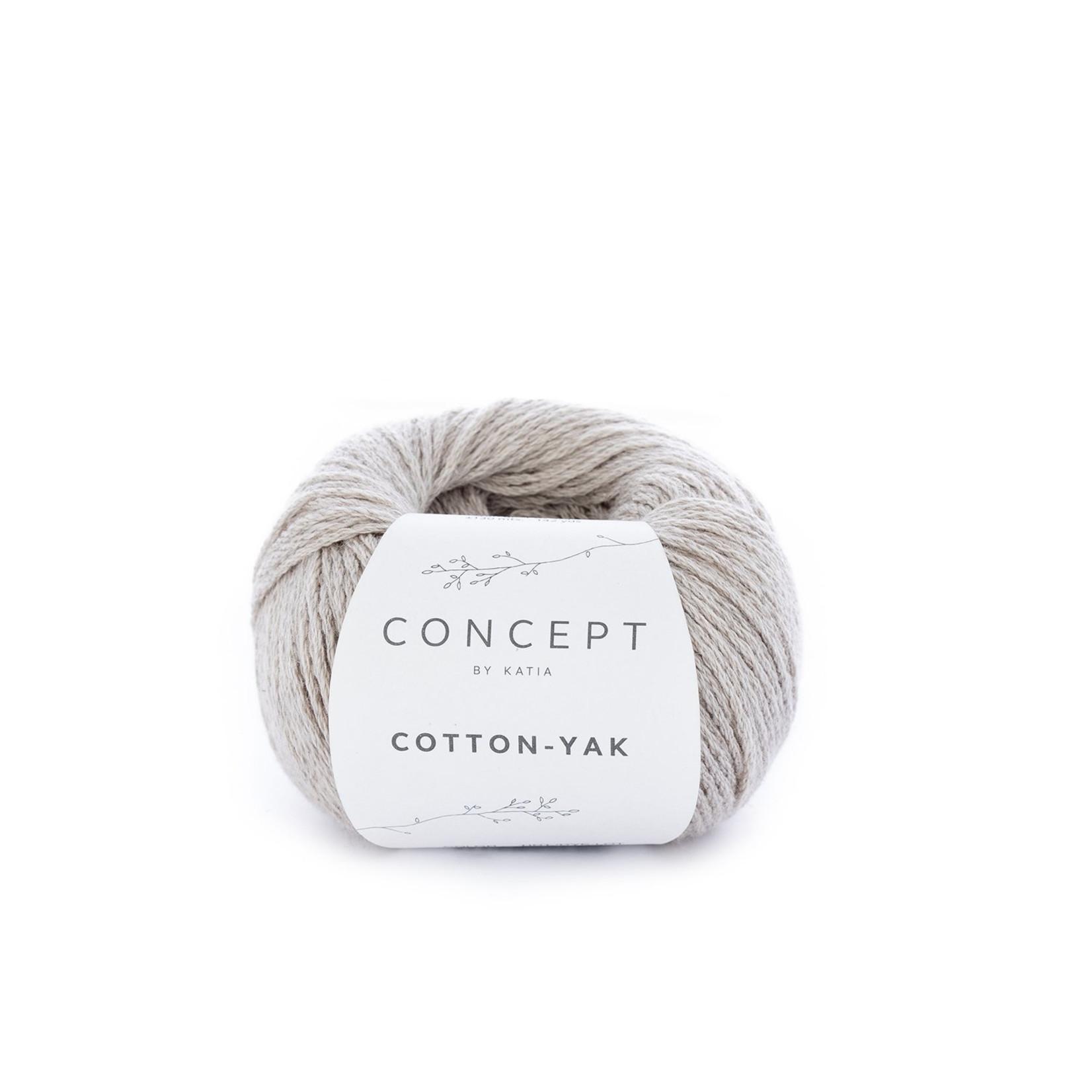 Katia Katia Cotton Yak - 100 -Beige -  katoen wol yak
