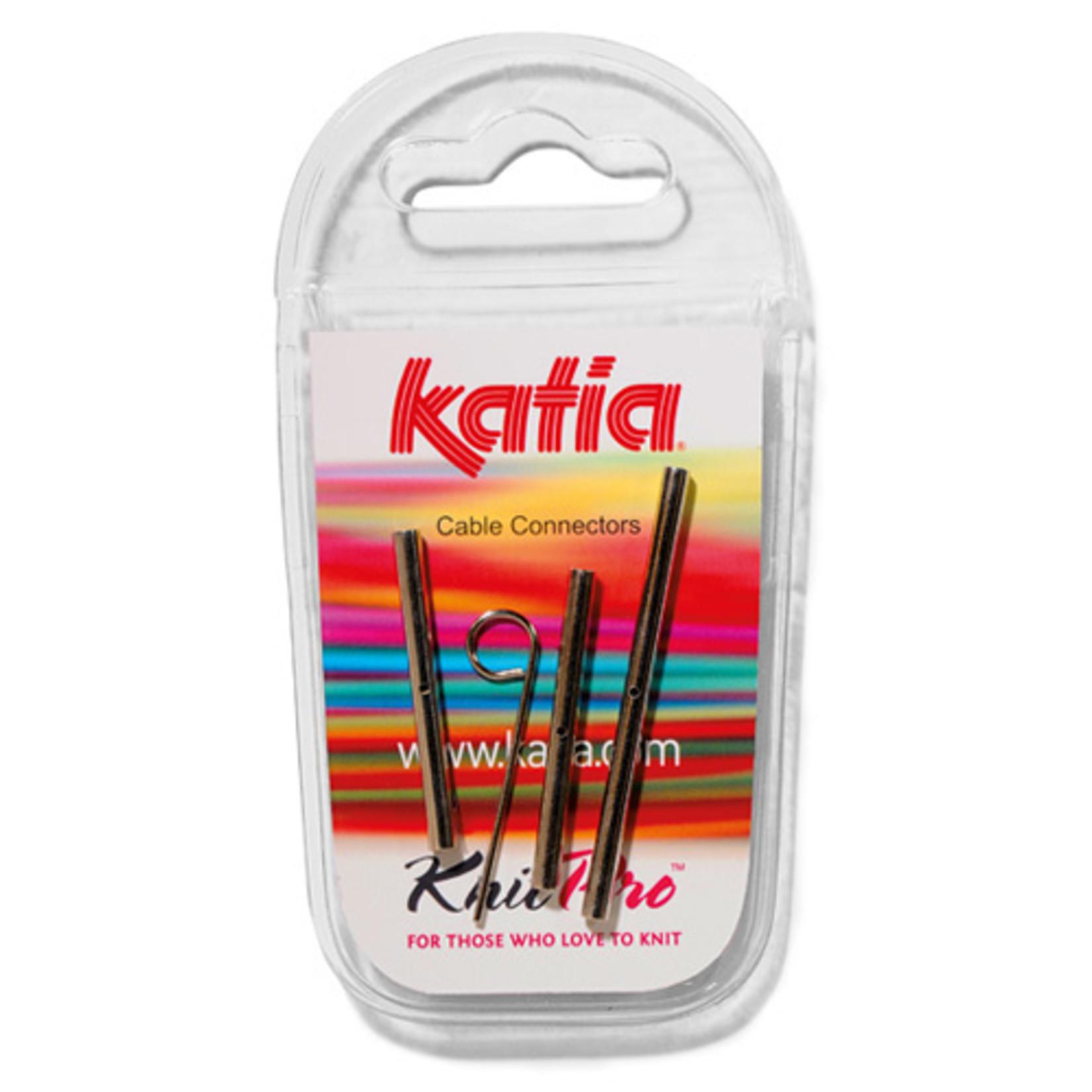 Katia Kabelverbinder verbindingsstuk voor verwisselbare kabelnaalden