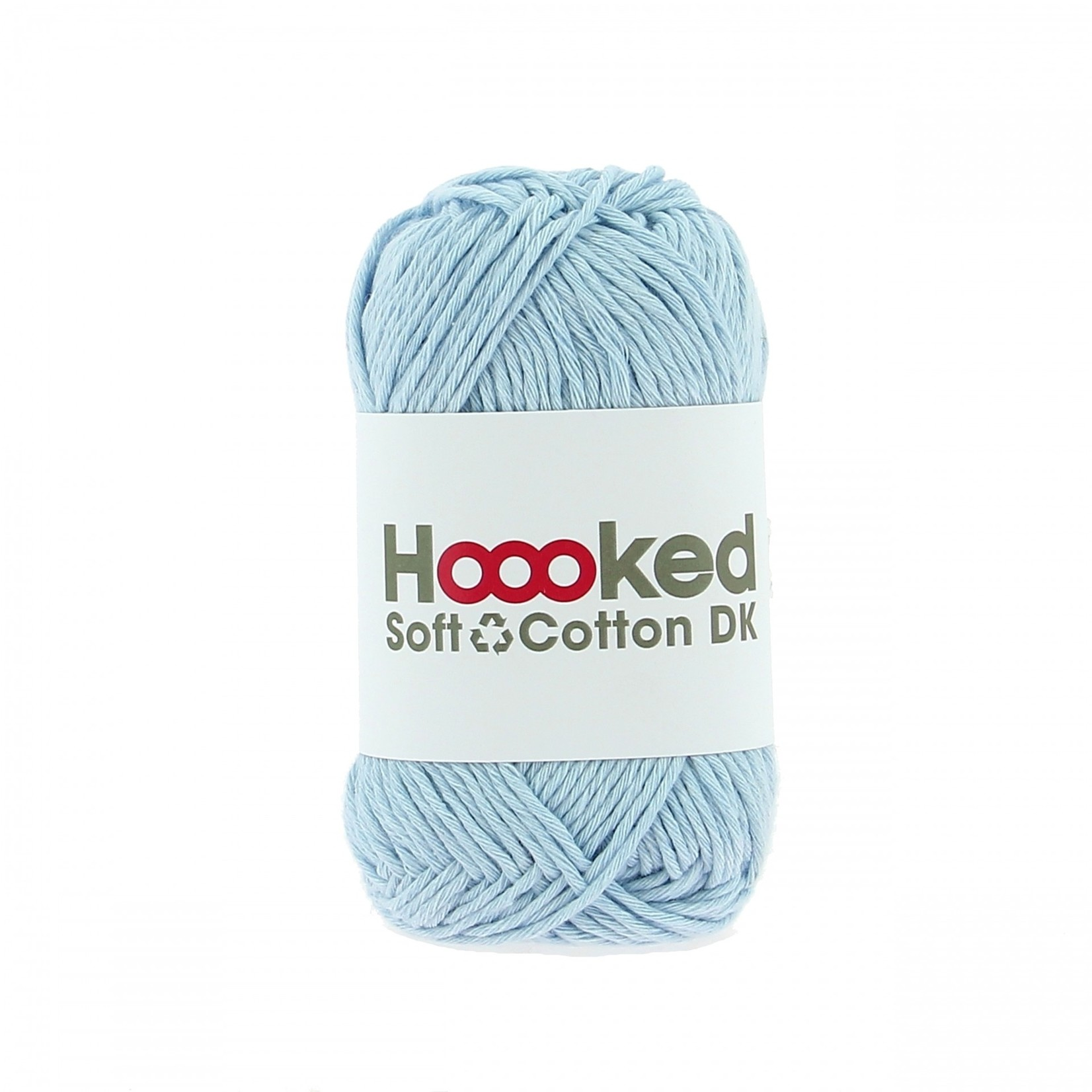 Hoooked Hoooked Soft Cotton DK Dublin Blue 50 gr. / 85 m.