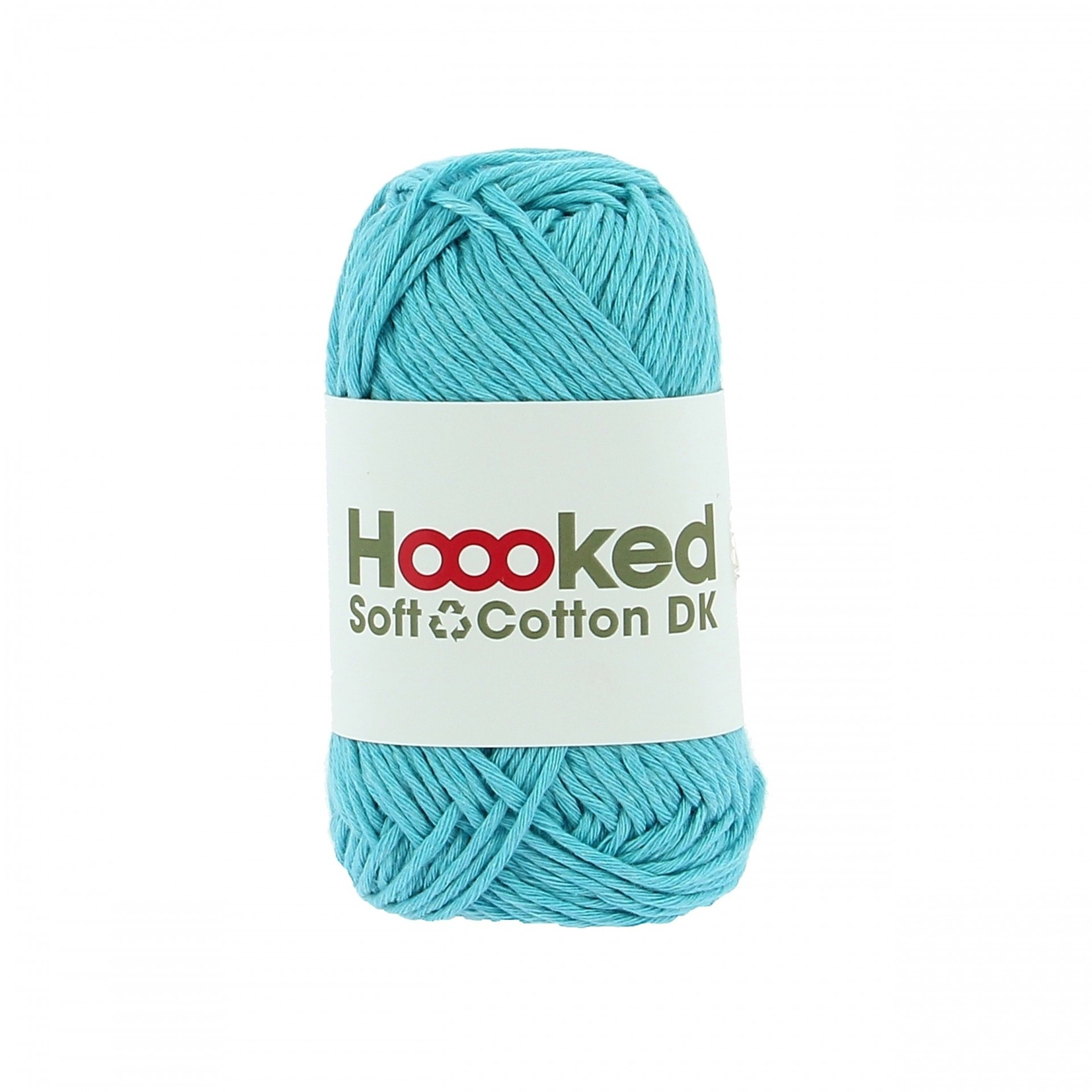 Hoooked Hoooked Soft Cotton DK Sydney Sea 50 gr. / 85 m.