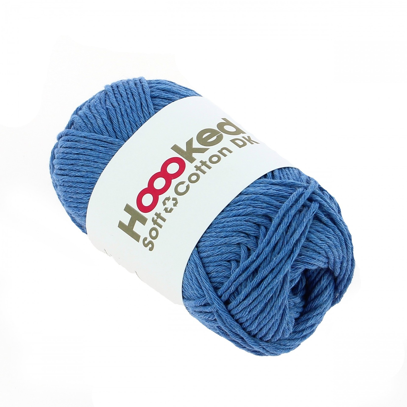 Hoooked Hoooked Soft Cotton DK Mexico Sky 50 gr. / 85 m.