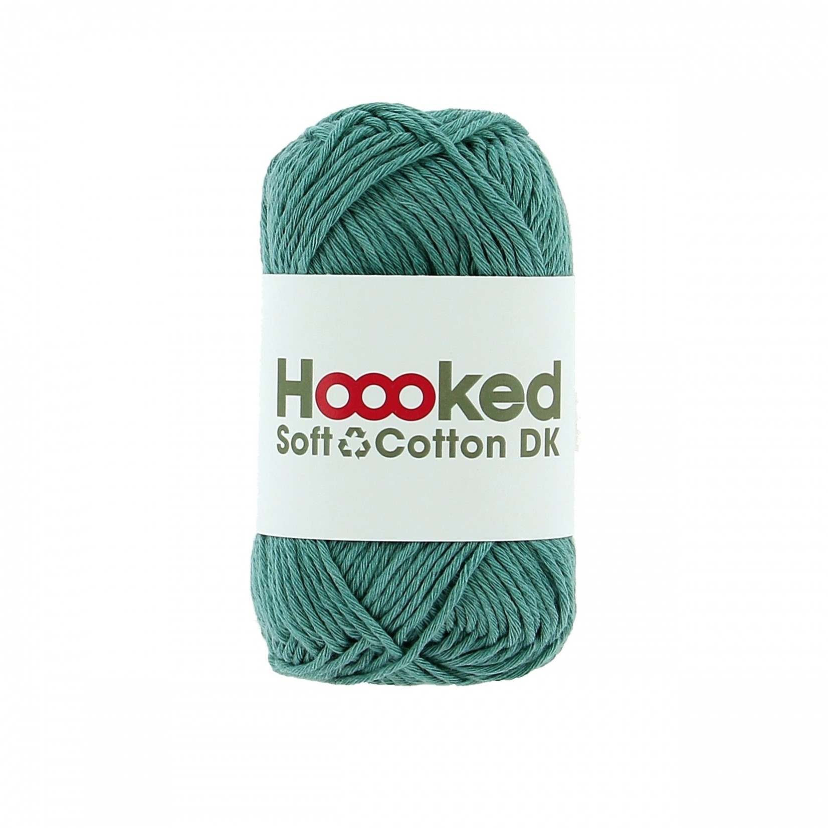 Hoooked Hoooked Soft Cotton DK Oslo Fern 50 gr. / 85 m.