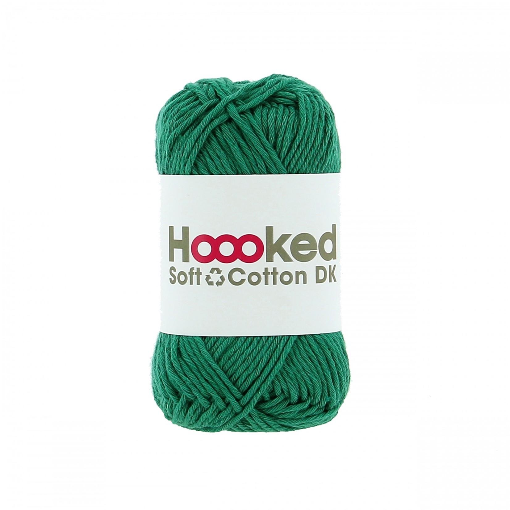 Hoooked Hoooked Soft Cotton DK Seattle Jade 50 gr. / 85 m.