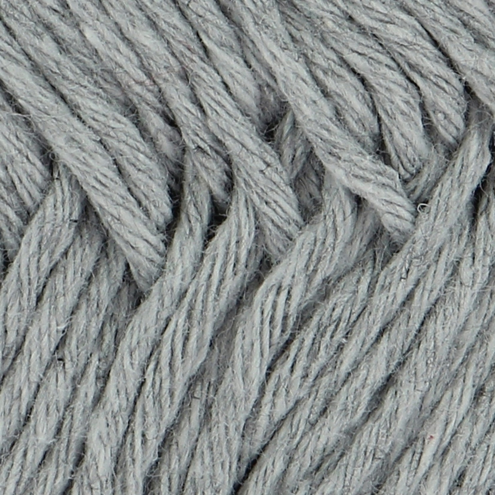 Hoooked Hoooked Soft Cotton DK New York Grey 50 gr. / 85 m.