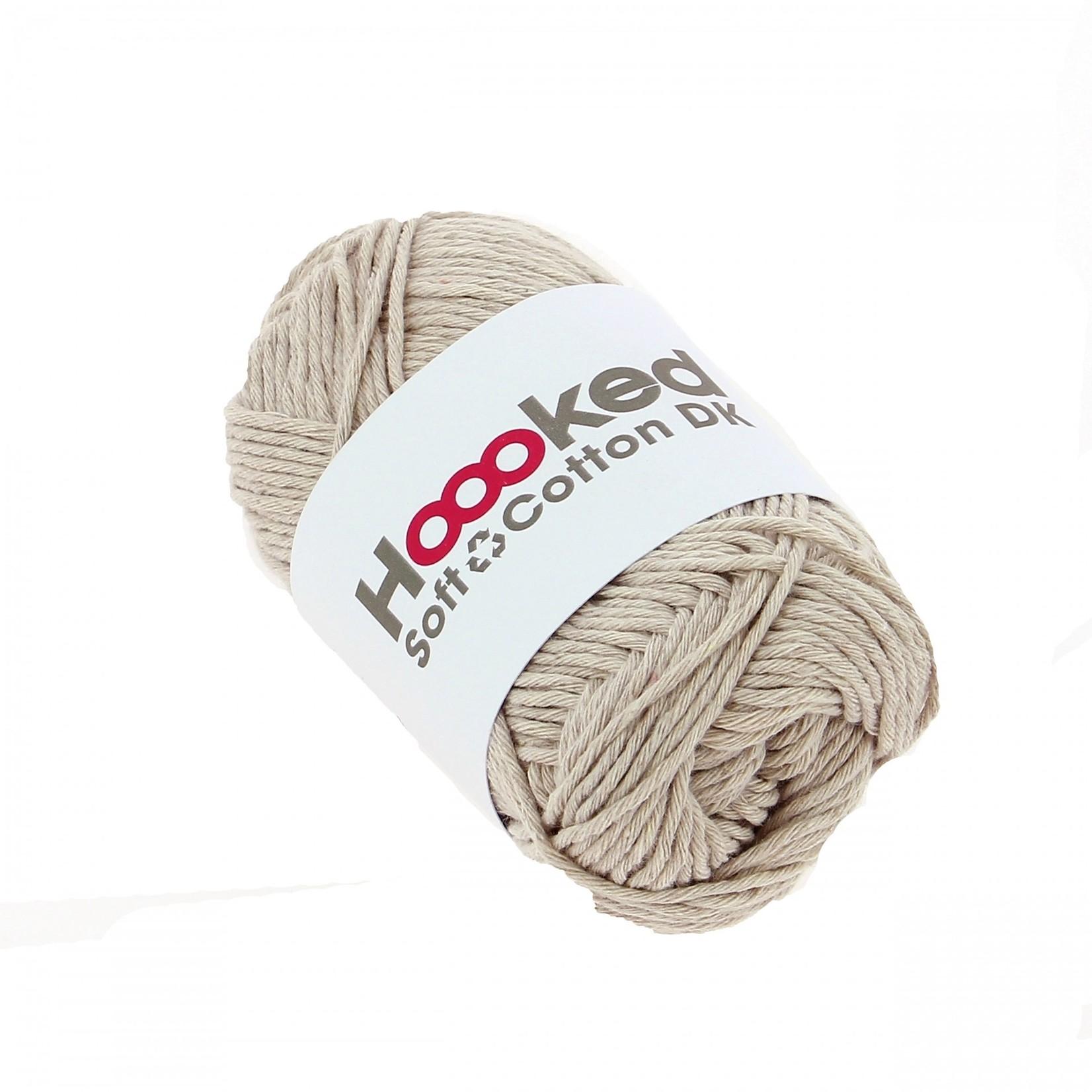 Hoooked HoookedSoft Cotton DK California Sand 50 gr. / 85 m.