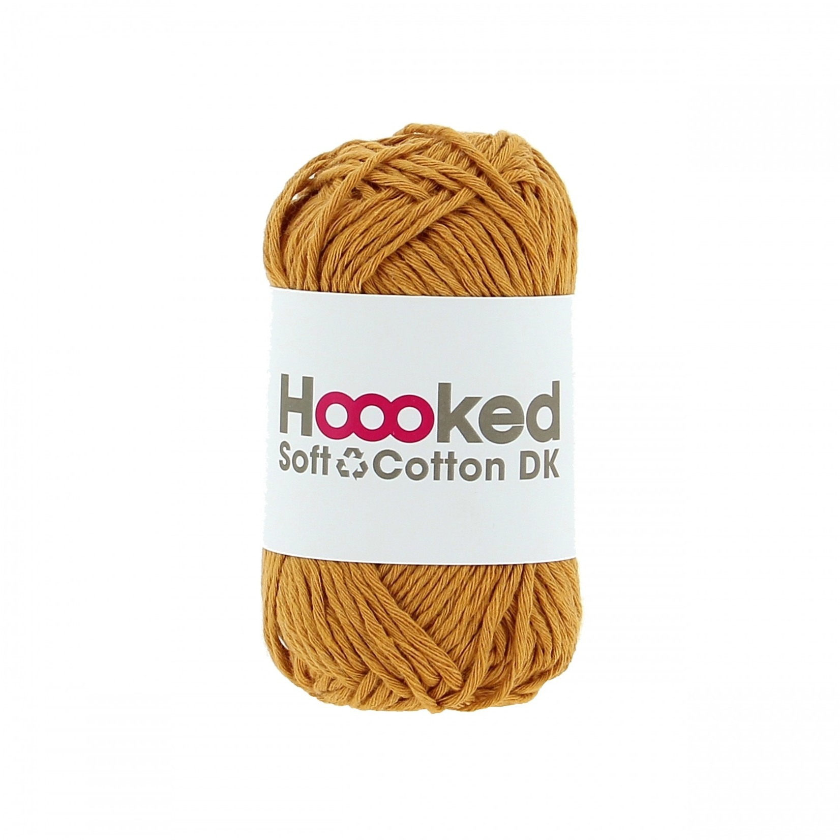 Hoooked Hoooked Soft Cotton DK Sienna Ocre 50 gr. / 85 m.