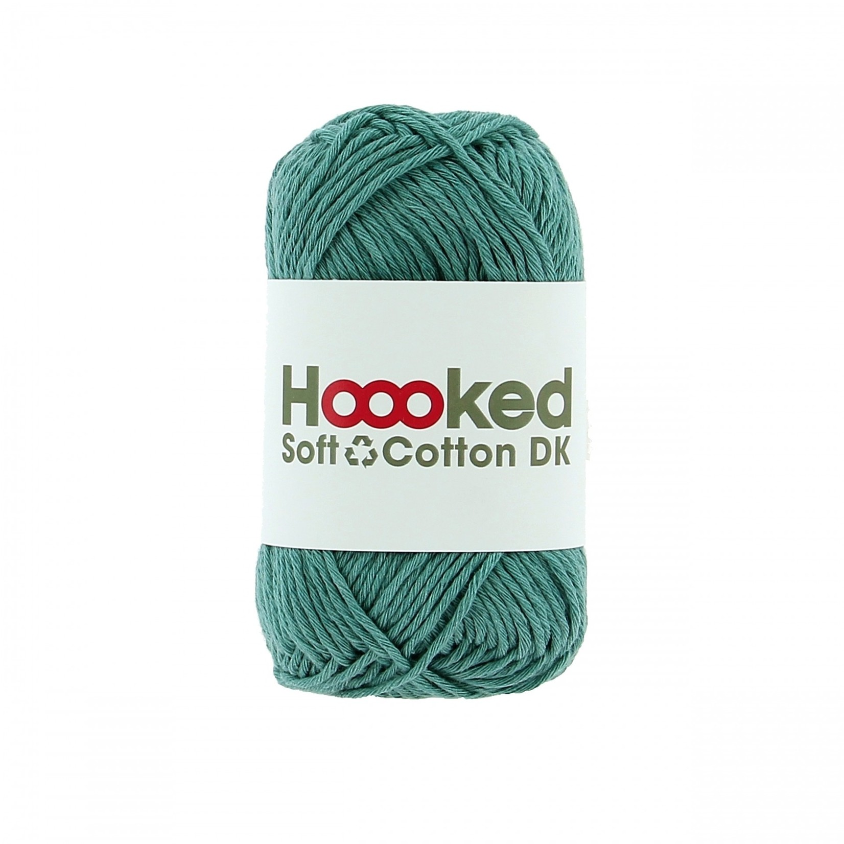 Hoooked Hoooked Soft Cotton DK Oslo Fern bundel 5 x 50 gr. / 85 m.