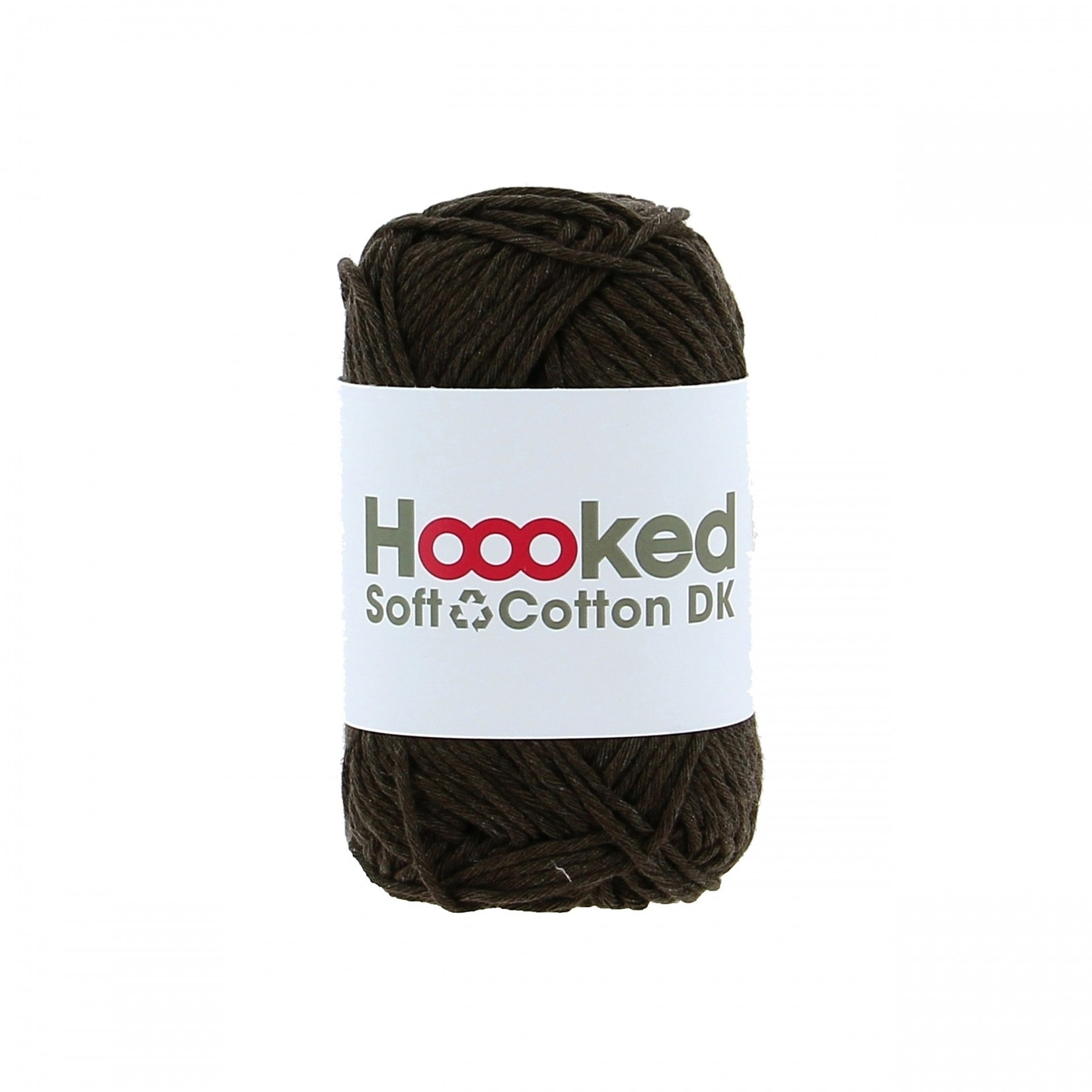 Hoooked Hoooked Soft Cotton DK Havana Brown - bundel 5 x 50 gr. / 85 m.