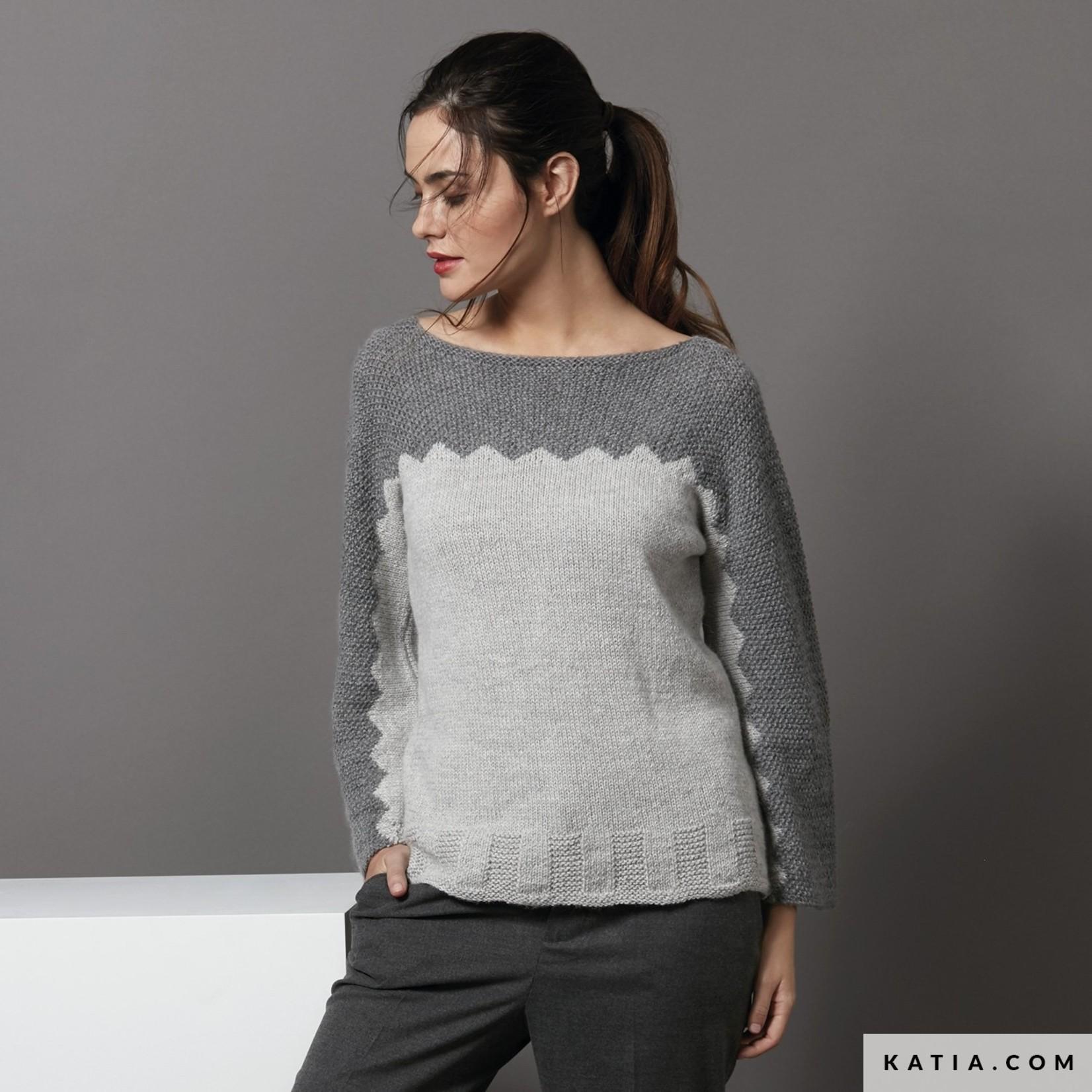Katia Baby Alpaca 100% - kleur 519 - Jeans - 50 gr. = 125 m. - 100% Baby Alpaca