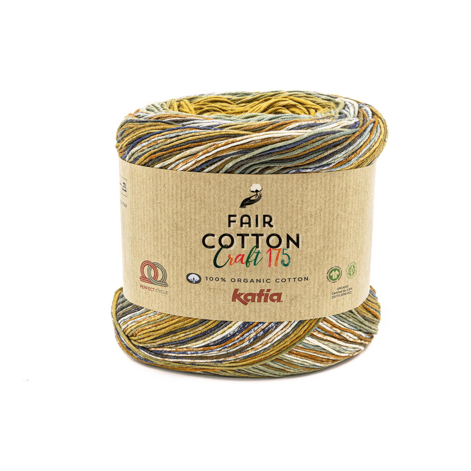 Katia Katia Fair Cotton Craft verloopgaren Kleur 801 - bundel 2 bollen x175  gr.
