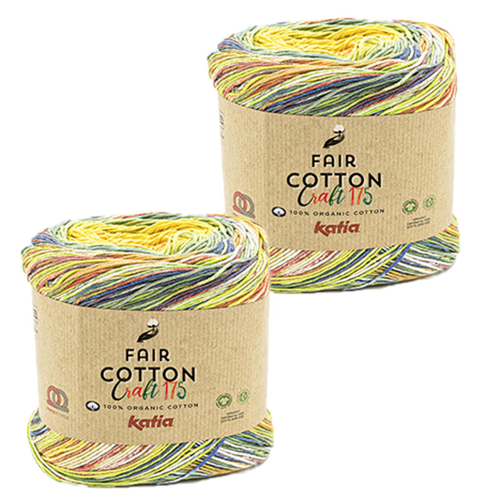 Katia Katia Fair Cotton Craft verloopgaren Kleur 802 - bundel 2 bollen x175  gr.