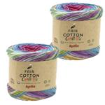 Katia Katia Fair Cotton Craft 805 - 2 bollen van 175 gr. -