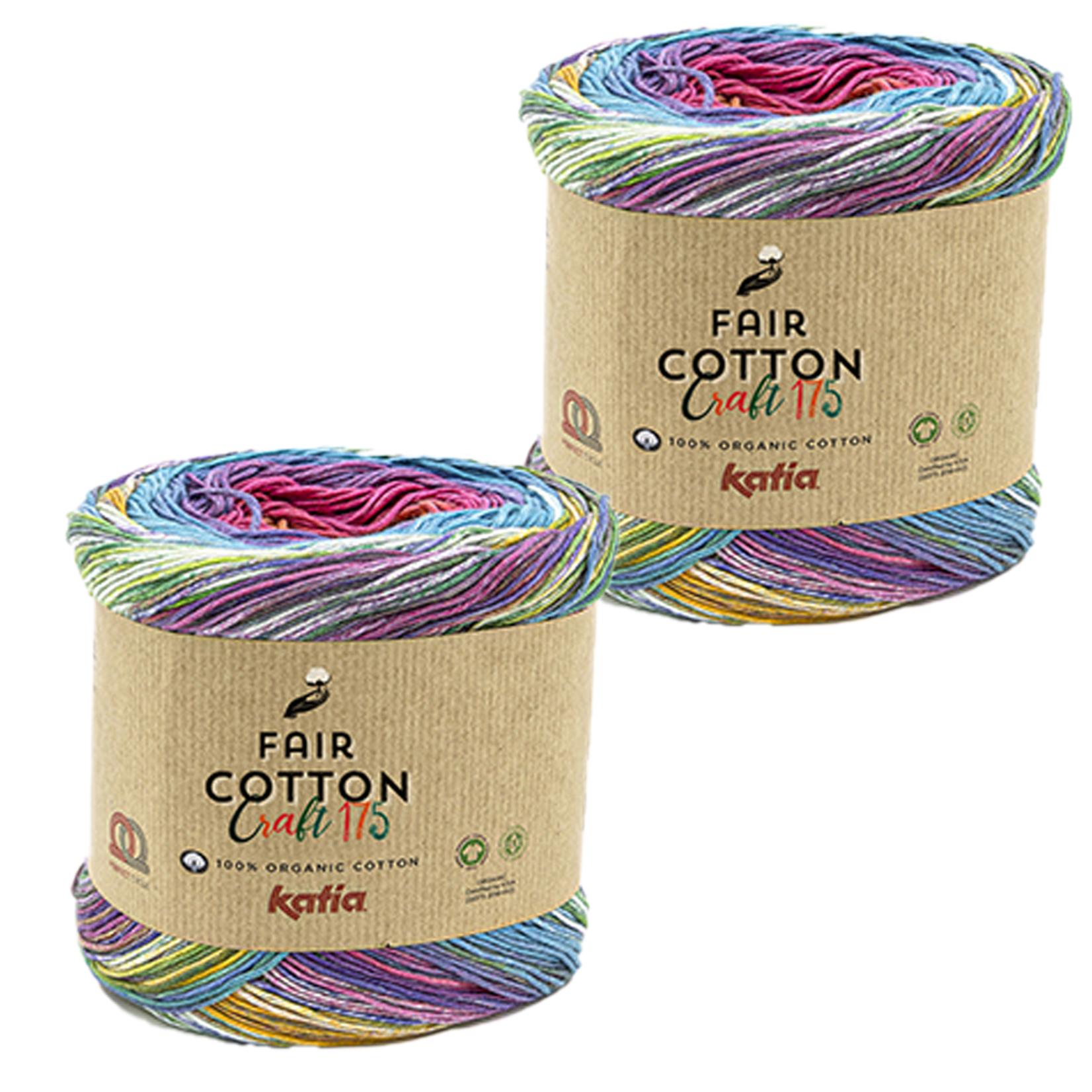 Katia Katia Fair Cotton Craft verloopgaren Kleur 805 - bundel 2 bollen x175  gr.