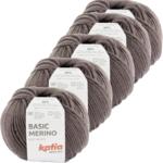 Katia Basic Merino - 89_Aubergine - 5 bollen 50 gr. /120 m.