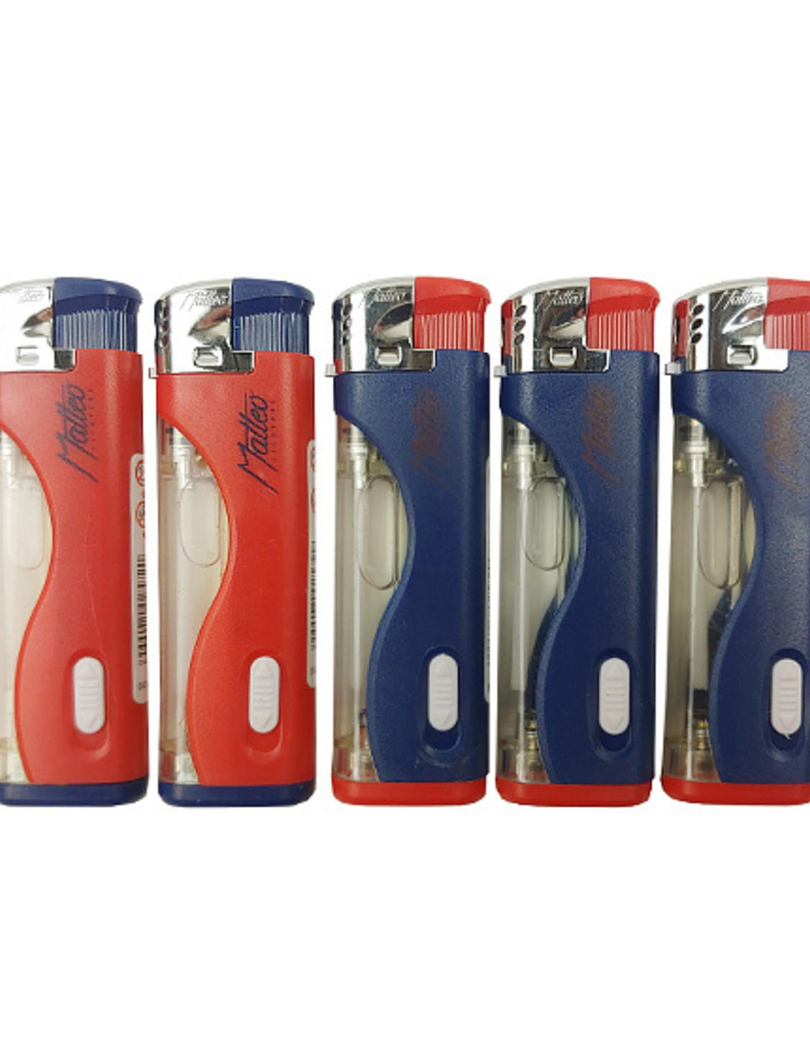 Matteo LED blue/red aanstekers (5 stuks)
