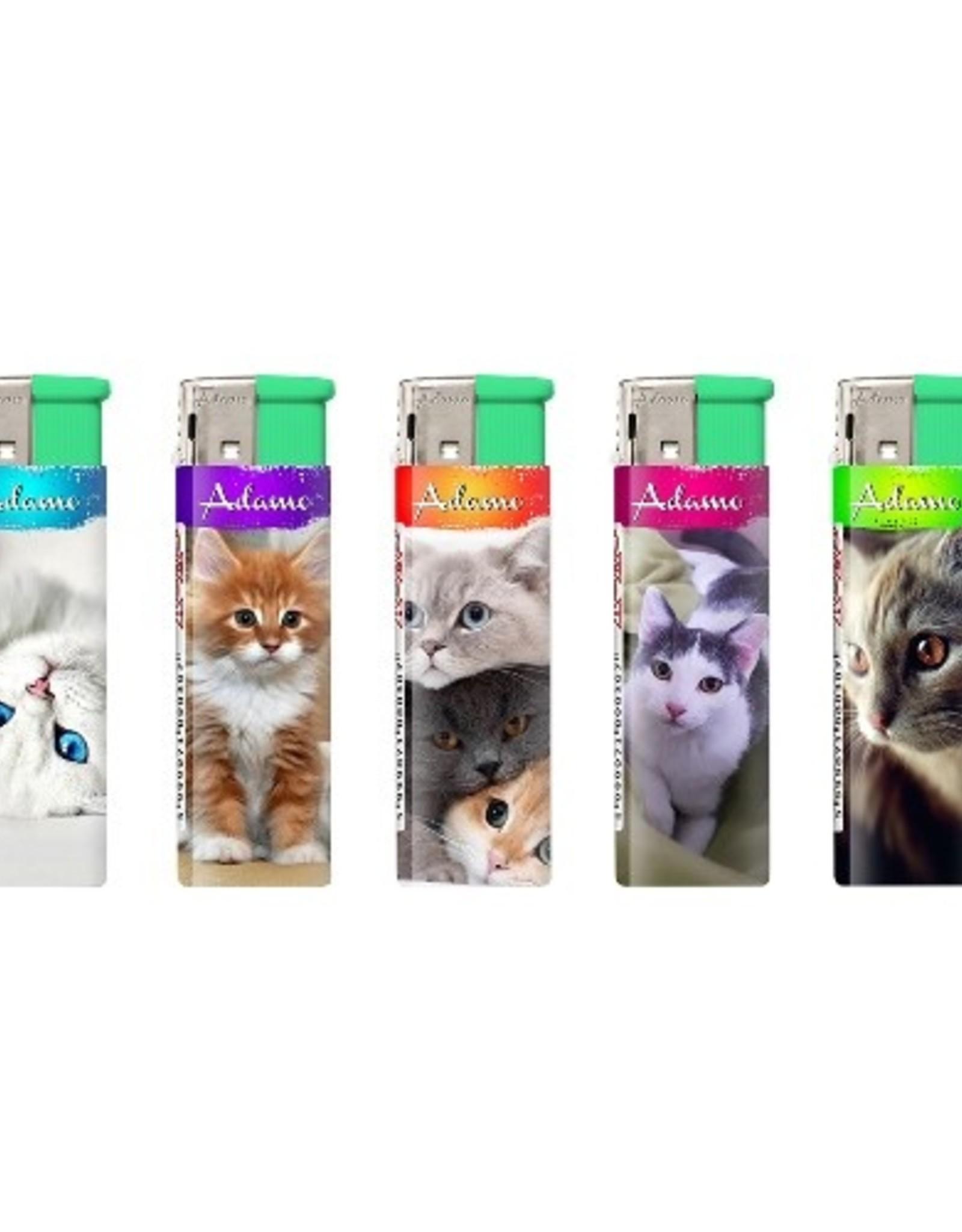 Adamo katten aanstekers (5x)