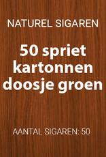 50 Sigaartjes Groen spriet
