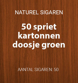 50 Sigaartjes Groen