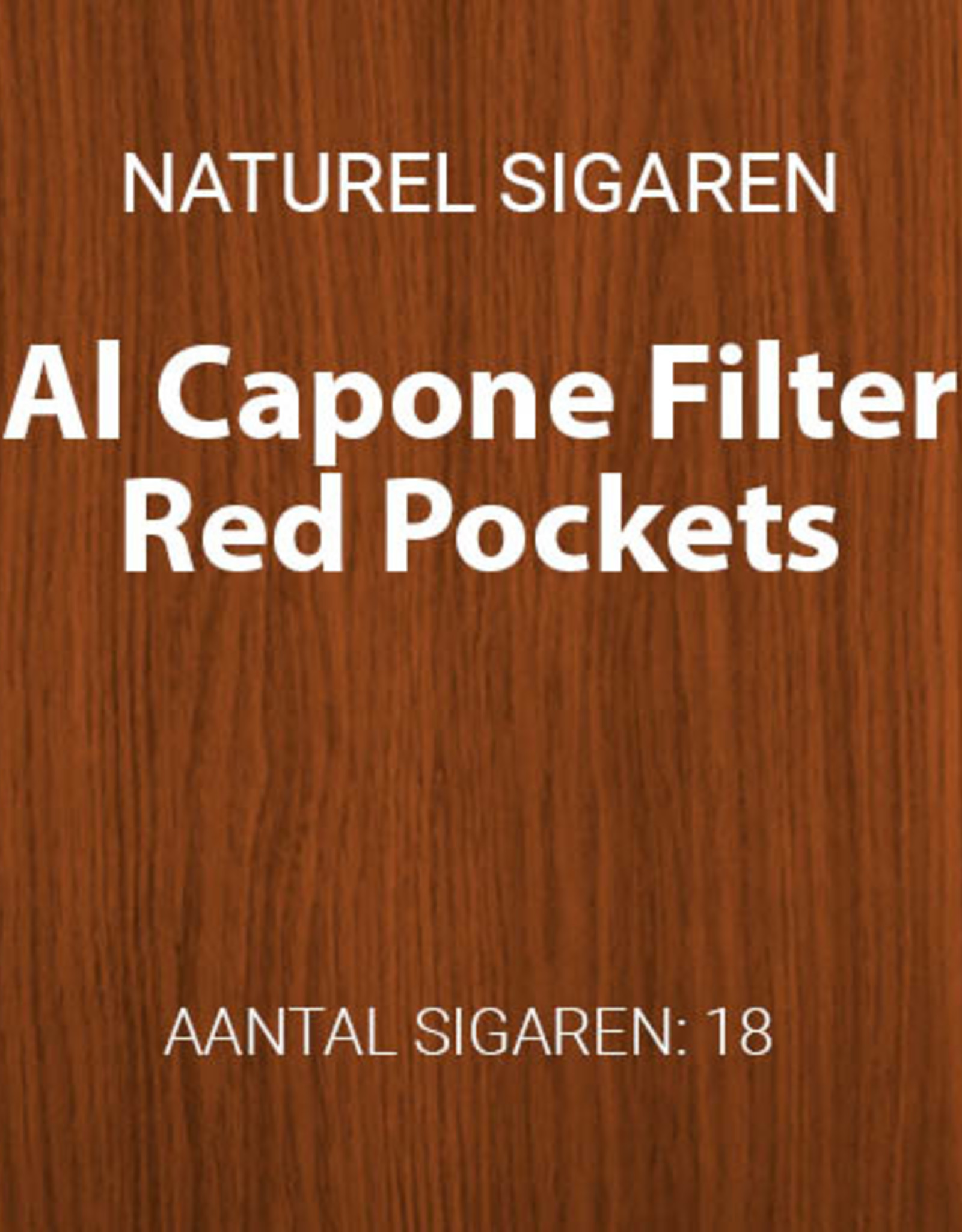Al Capone Red Pockets filter