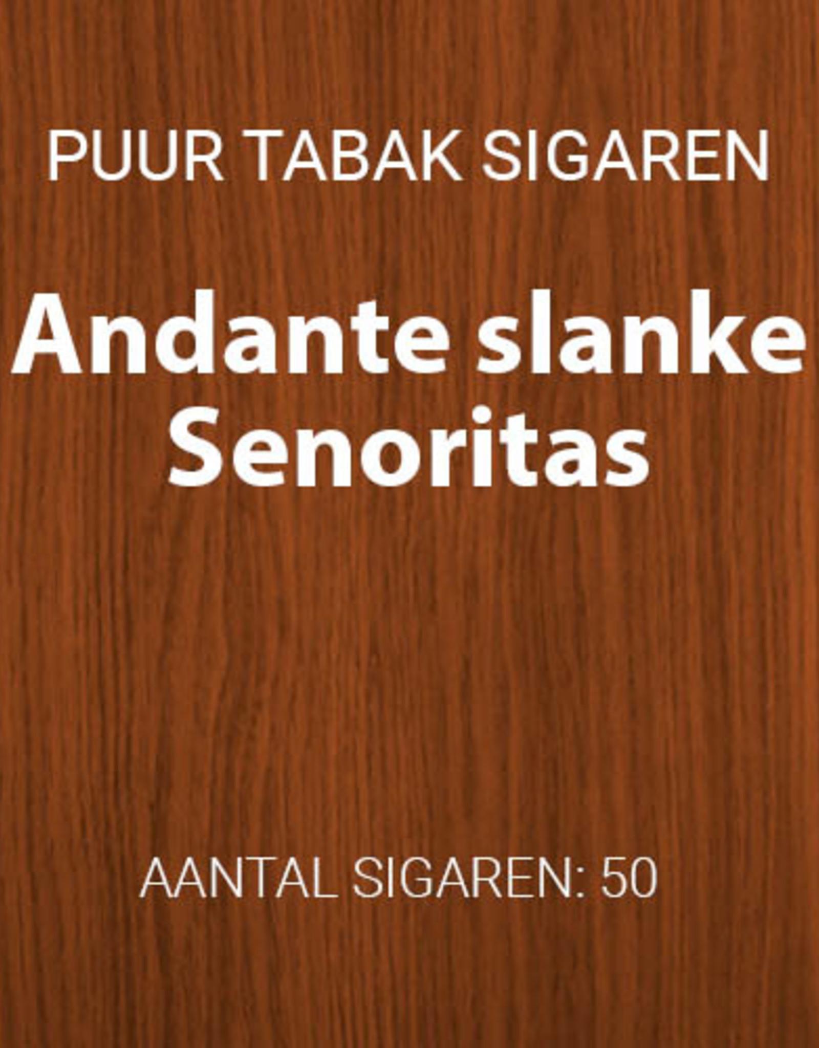Gouden serie Andante slanke senoritas