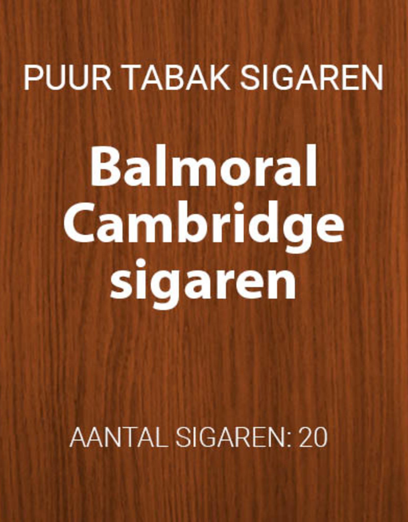 Balmoral Cambridge Tuitcigarillos
