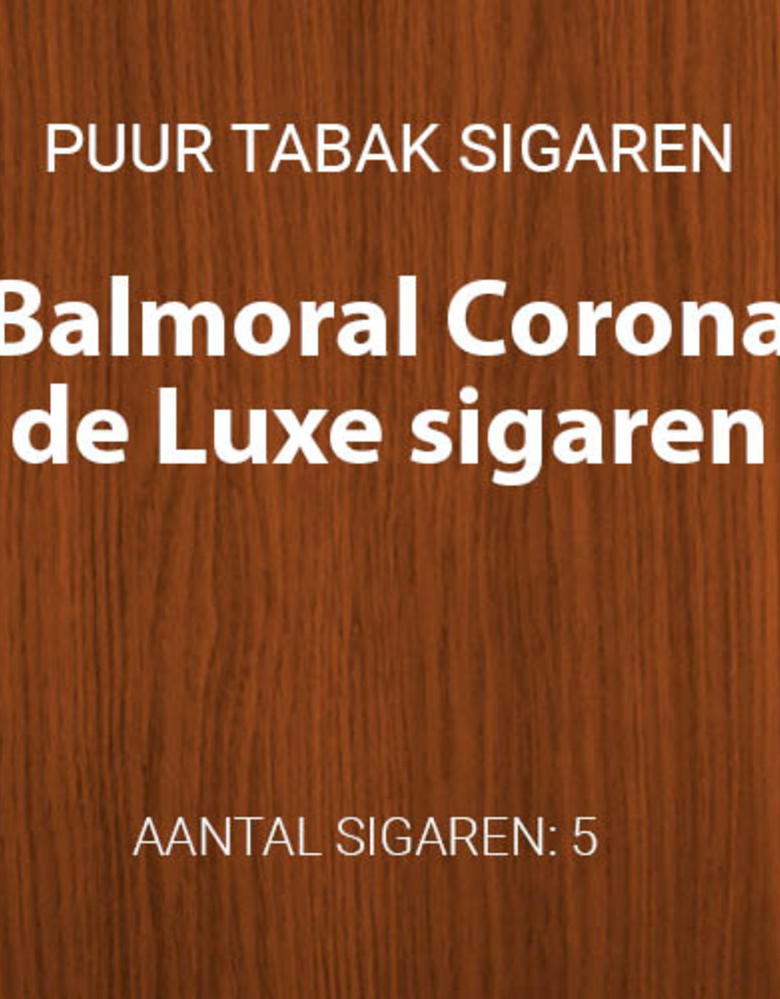 Balmoral Corona de Luxe