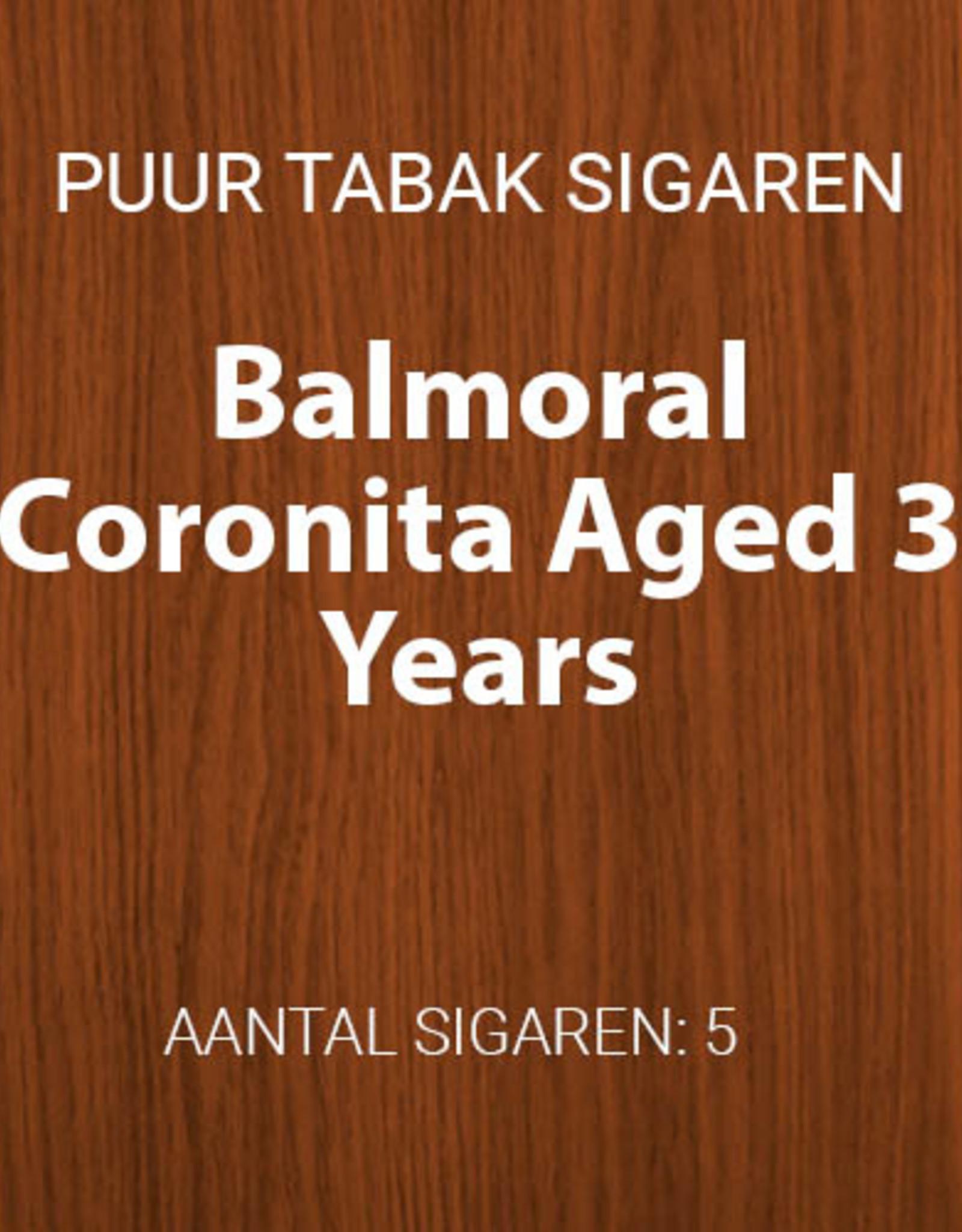 Balmoral Coronita Aged 3 Years